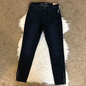 Universal Thread high rise skinny jeans ankle zip